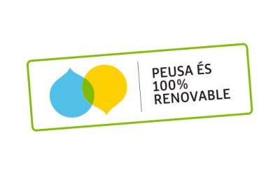 Renovamos el sello 100% verde