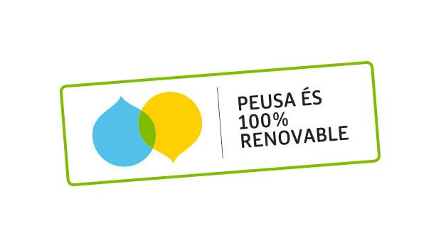 PEUSA, energia 100% verda