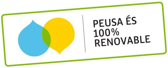 segell 100% renovable
