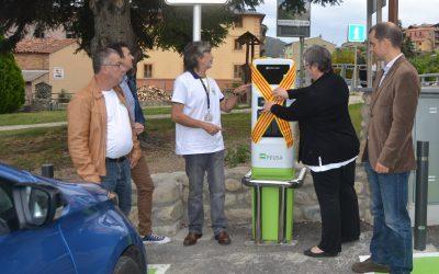 Primer punt de recàrrega per a vehicles elèctrics de la Cerdanya