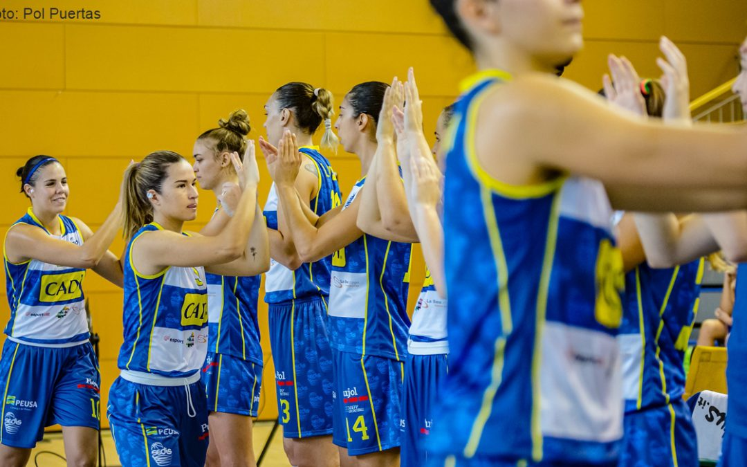 Sedis de bàsquet femení, un equip que és pura energia