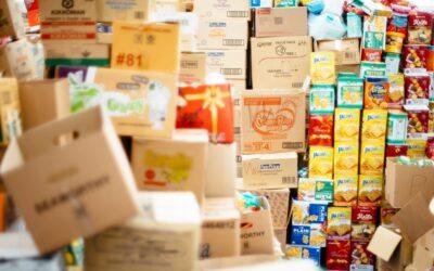 Aportamos 4.000 Kg de productos de primera necesidad en el Banco de los Alimentos, para ayudar a mitigar la situación de alarma