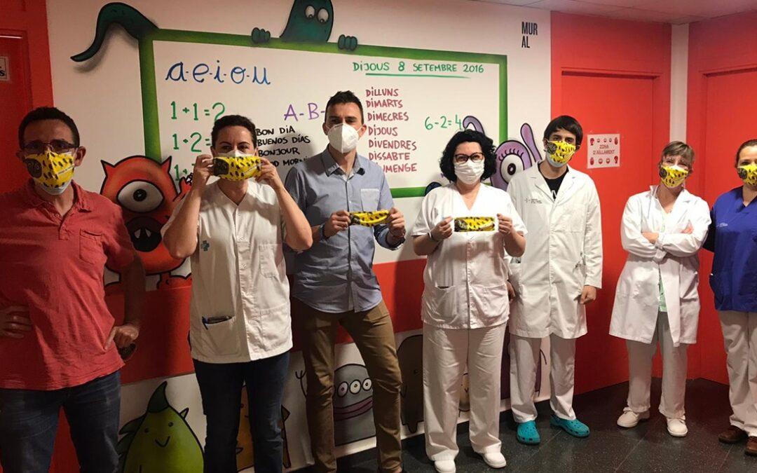 Distribuïm 2.000 mascaretes infantils a hospitals i centres del salut pirinencs