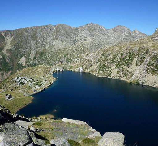 Estany Gento, Pallars Jussà. Foto: Viquipèdia